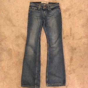 Express Sarula flare jeans sz 4 L